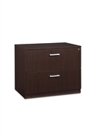 FULCRUM LAMINATE SERIES 36 INCH WIDE 2-DRAWER LATERAL FILE
