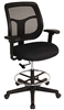 Mesh Back Drafting Stool