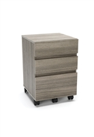 3-DRAWER WHEELED MOBILE PEDESTAL CABINET