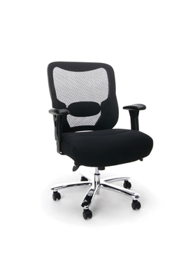BIG AND TALL MESH BACK TASK CHAIR
