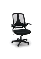 UPHOLSTERED FLIP-ARM TASK CHAIR