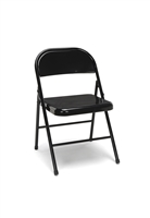 4-PACK METAL FOLDING CHAIRS