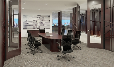 Cherryman Emerald Wood Veneer Desks & Office Furniture