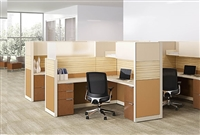 Hon Abound segmented Modular Cubicles