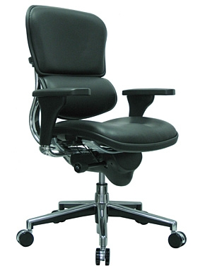 Leather Ergonomic Chair