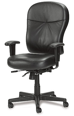 Leather Ergonomic Computer Chair