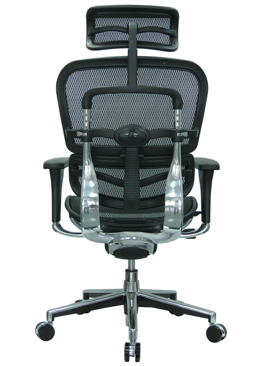 eurotech me7erg mesh office chair with headrestraynor on the