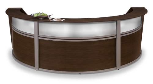 Boca Office Furniture Ofm Marque Curved Reception Lobby Desk With