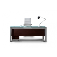 Modern Executive Glass Top Desks