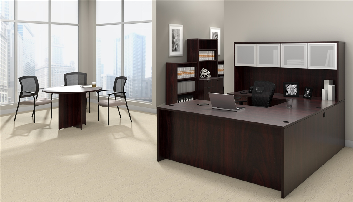 Office Furniture Made In American Mahogany Design