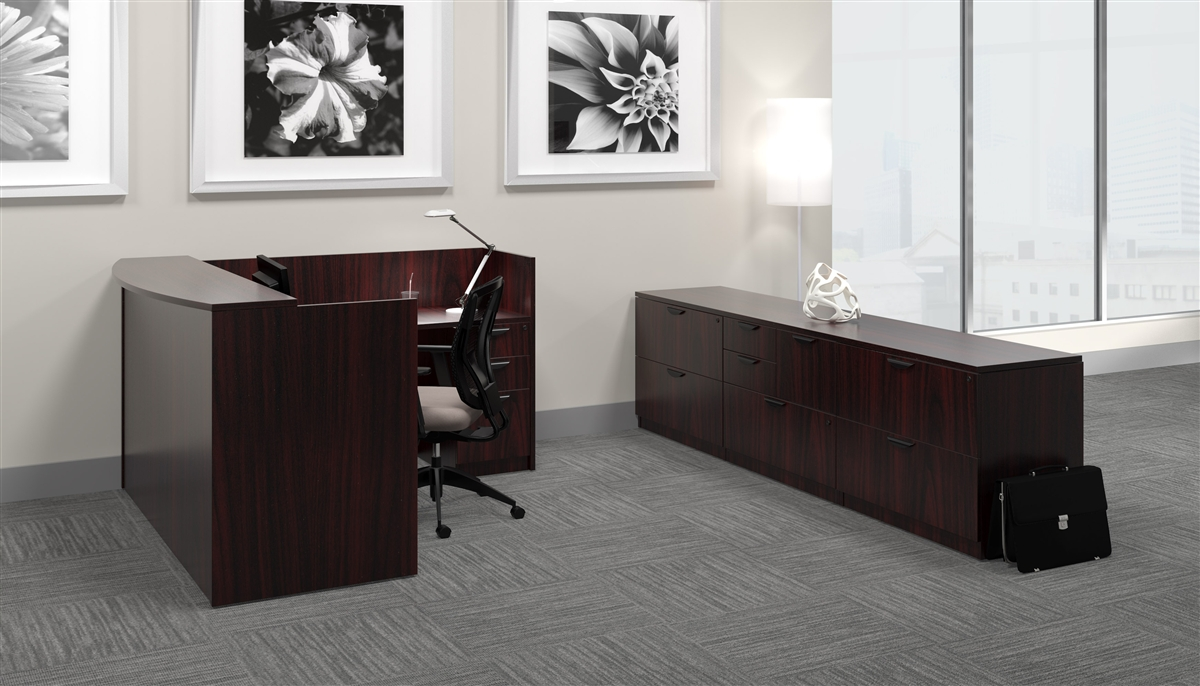 Office Furniture made in American Mahogany
