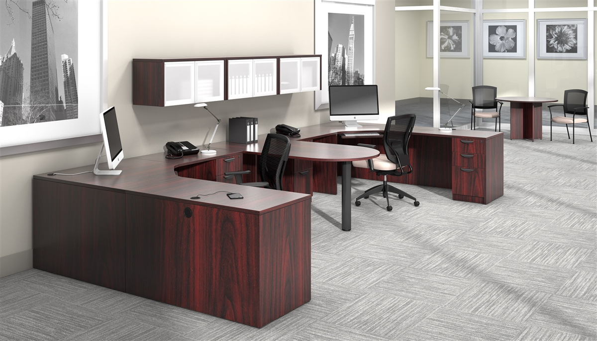 Offices To Go OTG Desk made in American Mahogany AML at Boca ...