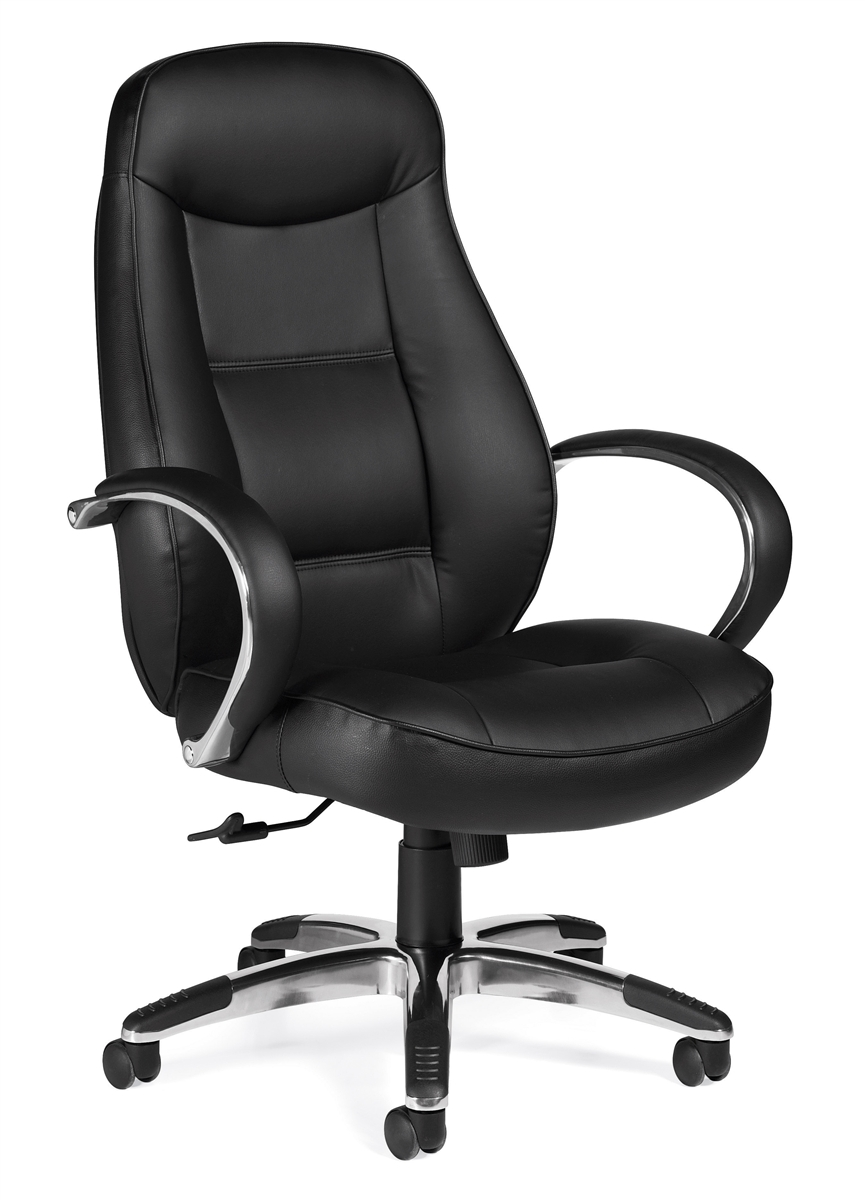 Offices To Go Otg11649b Black Leather Executive Office Chair
