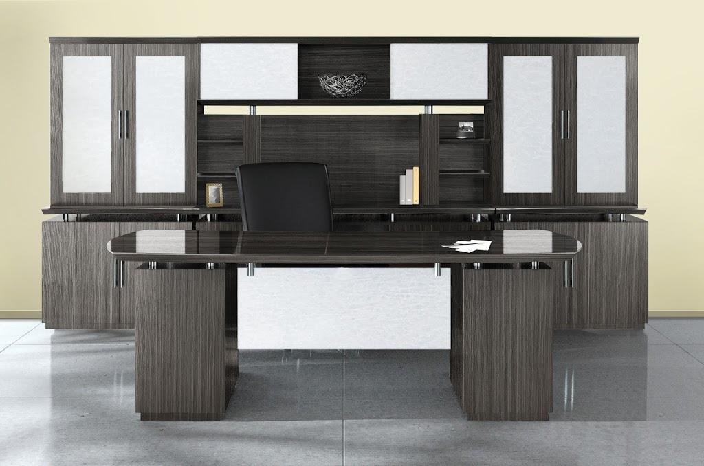 mayline sterling office furniture desks in mocha brown sugar rh bocaofficefurniture com Office Furniture Layout mayline office furniture dealers