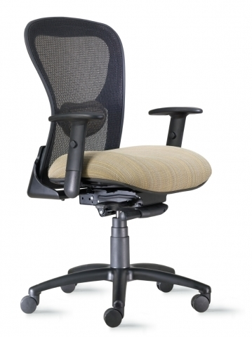 Mesh Computer Chair  sc 1 st  Boca Office Furniture & Strata Mesh Computer Chair with soft comfortable seat u0026 breathable back.