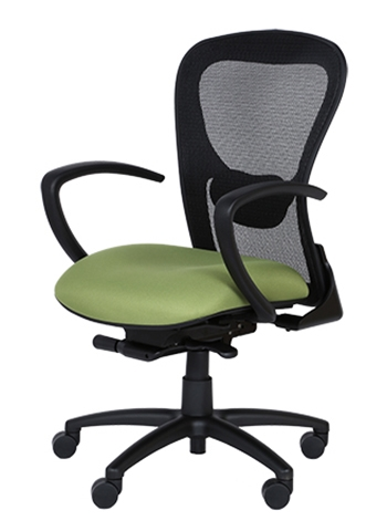 Strata Mesh Computer Chair With Soft Comfortable Seat