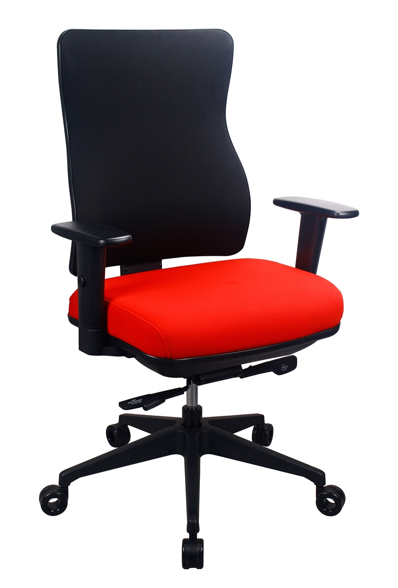 tempur-pedic ergonomic computer chair tp250 by eurotech seating