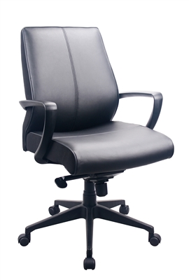 Tempur-Pedic Leather Conference Chair