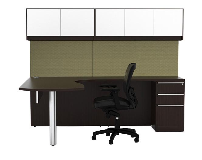 Cherryman Verde L Shape Desks