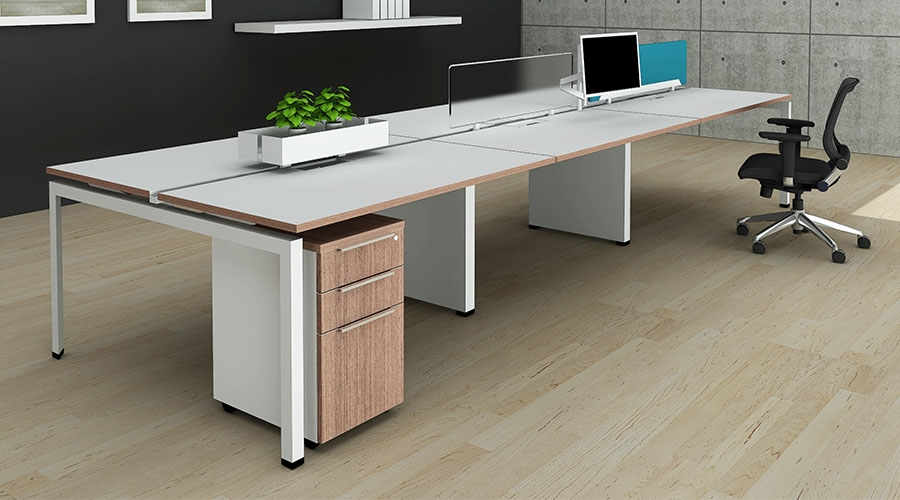 Benching System Desks Amp Modulal Furnishings At Boca Raton