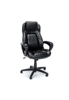 RACING STYLE LEATHER EXECUTIVE OFFICE CHAIR