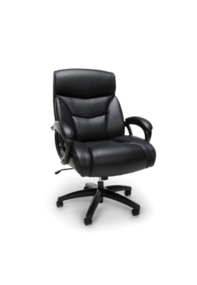 BIG & TALL LEATHER EXECUTIVE CHAIR