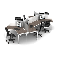 Benching System Desks