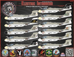 1/48 Electric Intruders EA-6A in USN & USMC Service