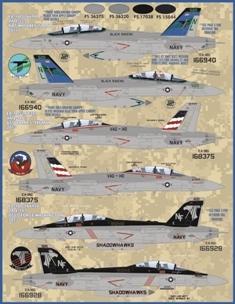 Furball Decals 1//48 GROWLER ANTHOLOGY GRUMMAN EA-18G GROWLER