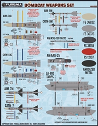1/48 F-14 Bombcat Weapons Set