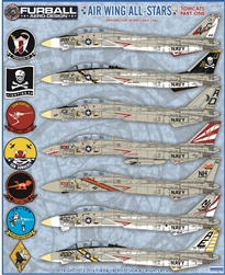 1/72 Air Wing All-Stars Tomcats Part One