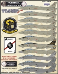 1/48 USN F-14 Tomcats Colors & Markings Part I