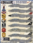 1/48 USN F-14 Tomcats Colors & Markings Part II