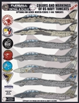 1/48 USN F-14 Tomcats Colors & Markings Part VII