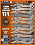 1/48 Colors & Markings of US Navy F-14s PT 11