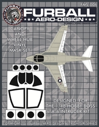 1/48 A-6 Intruder Vinyl Mask Set for the Hobby Boss Kit