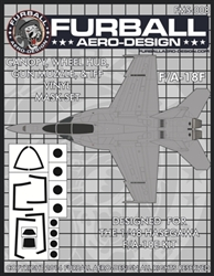 1/48 F/A-18F Vinyl Mask Set for the Hasegawa Kit
