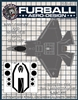 1/48 F-35C Vinyl Mask Set for the  Kittyhawk Kit