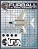 1/48 F9F-8 Vinyl Mask Set for the Kittyhawk Kit