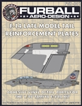 1/48 F-14 Tail Reinforcement Plates (vinyl)