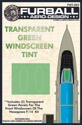 1/48 F-14 Windscreen Tint for the Hasegawa Kit