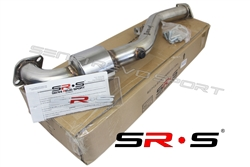 SRS 97-05 WRX Impreza 2.5L/RS/EJ  Stainless Steel Catless downpipe