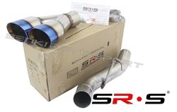 SRS 07-13 Chevrolet Suburban / Avalanche / Tahoe Burnt Tip Axleback Exhaust System