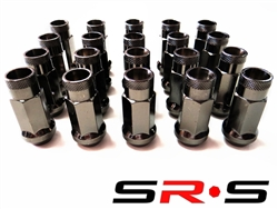 SRS TUNER LUG NUTS CHARCOAL