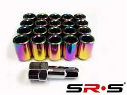 SRS TUNER LUG NUT NEO CHROME