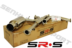 SRS Mitsubishi Eclipse GS / RS  95-99 catback exhaust system