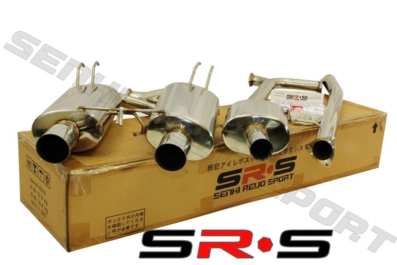 SRS Mitsubishi EVO X TYPERE Catback Exhaust System - Acura tsx exhaust
