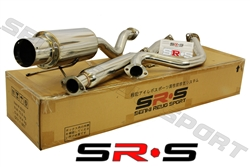 SRS Acura Integra RS 94-01 2D catback exhaust system