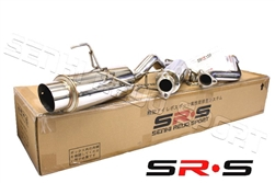 SRS Acura RSX 02-06 NON Type-S catback exhaust system