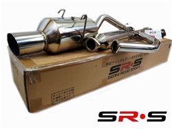 SRS Honda Civic 92-00 EX 2/4dr catback exhaust system ( will not fit si)